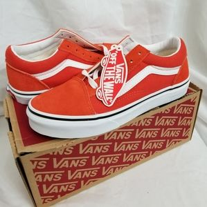 Vans old skool ORANGE Kids 3.5